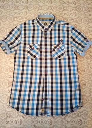 Хлопковая стильная рубашка