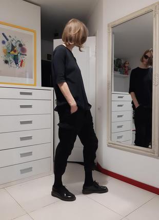 Твидовые брюки с карманами