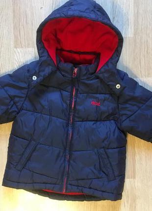Зимняя куртка, курточка для мальчика next, размер 2-3 г, 92-98