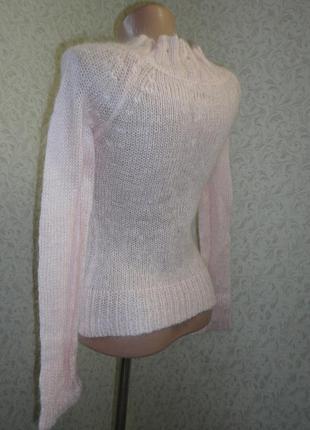 Ангора свитер reserved р.10   (ог 72-90, рук.62)