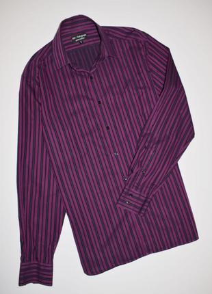 Мужская рубашка длинный рукав в полоску, autograph