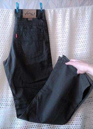Легкие мужские джинсы-брюки  vinci турция w30 l34, лето