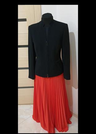 Carryweber,пиджак,размер 46, цвет черный
