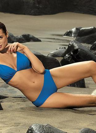 Синий раздельный купальник lauren 325 marko