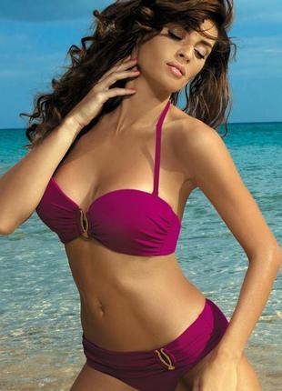 Фиолетовый раздельный купальник salma 254 marko