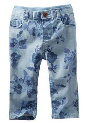 Детские джинсы штаны на девочку фирмы оshkosh