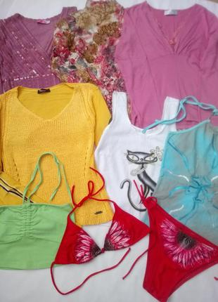 Пакет одежды на весну-лето 8ед