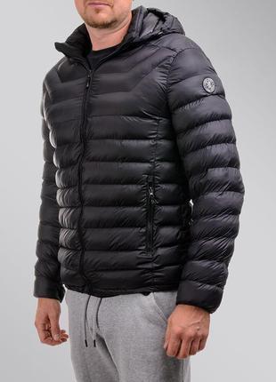 Мужской демисезонный пуховик,курточка стеганная,короткая,зимняя