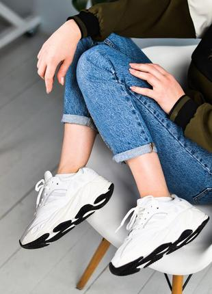 Adidas yeezy boost 700 шикарные женские кроссовки адидас изи