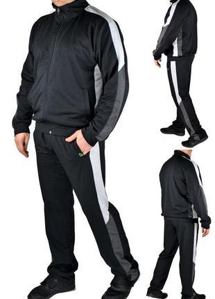 Мужской трикотажный повседневный спортивный костюм