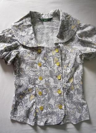 Новая блуза в школу