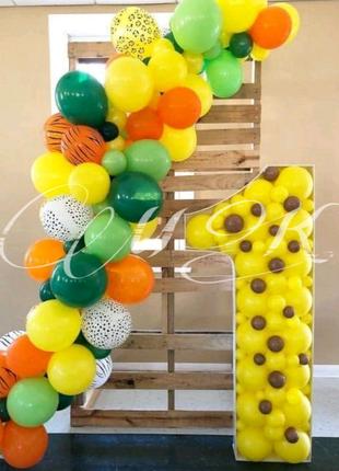 Декор для фотозоны на Первый день рождения