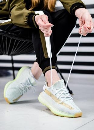 Adidas yeezy boost 350 v2  шикарные женские кроссовки адидас изи