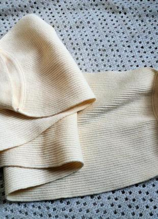Модный  шарфик - болеро с манжетами!