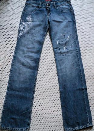 Прямые фирменные джинсы на высокую девушку от dlf. турция.100%...