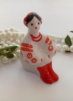 Калина киевский экхз девушка украинка фарфоровая статуэтка мин...