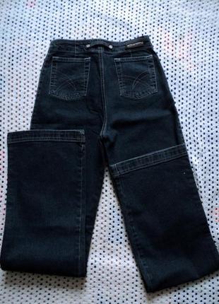Прямые джинсы с завышенной талией от delfin. турция w26l32
