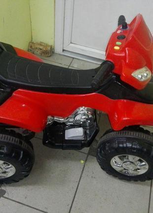 Электроквадроцикл детский М 0417