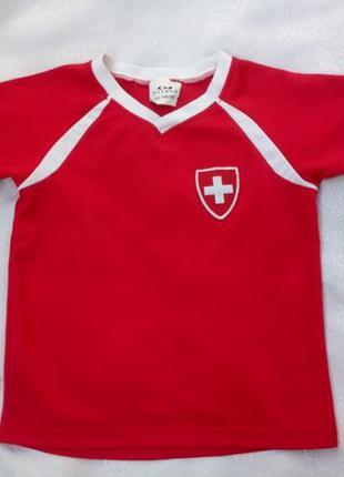 Футболка Extend детская (110-116 см), яркая, спортивная