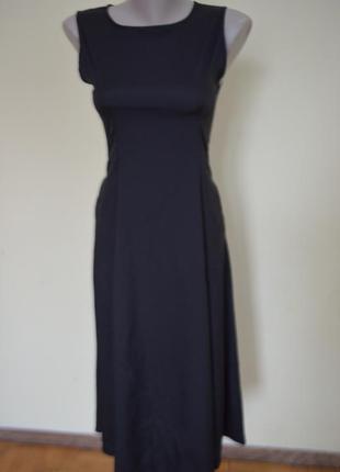 Шикарное черное платье классика базовая вещь
