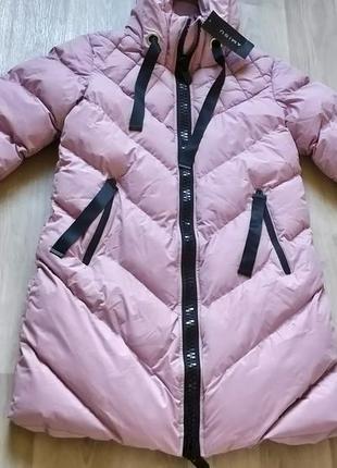 Новая женская тёплая куртка пальто с капюшоном new yorker