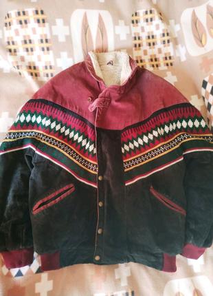 Зимняя куртка ковбойка (М)
