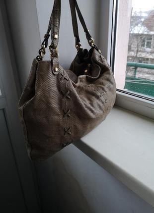 Кожаная сумка luana