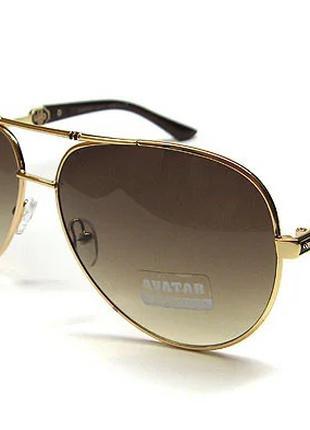 Очки солнцезащитные от солнца Авиатор Avatar 14017 сн53