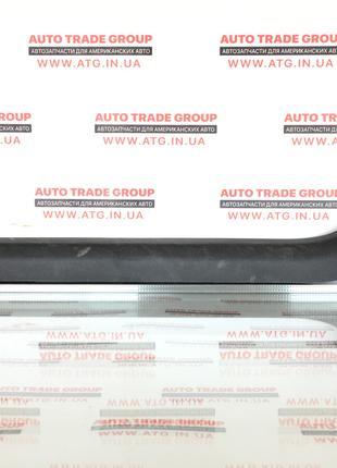 Накладка порога внутр перед прав Cadillac ATS 13- черн 22938091