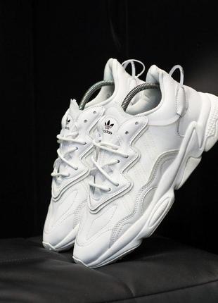Adidas ozweego шикарные женские кроссовки адидас белые