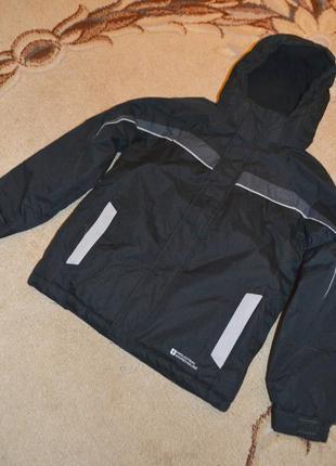 Куртка мембранная зимняя mountain warehouse р.9-10 лет 134-140 см
