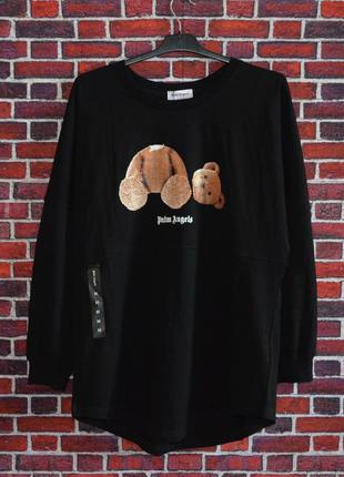 Лонгслив palm angels bear black