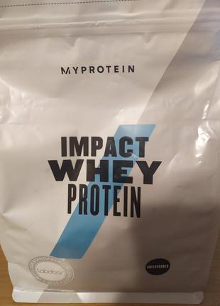 Сывороточный протеин Impact Whey Protein MyProtein натуральный
