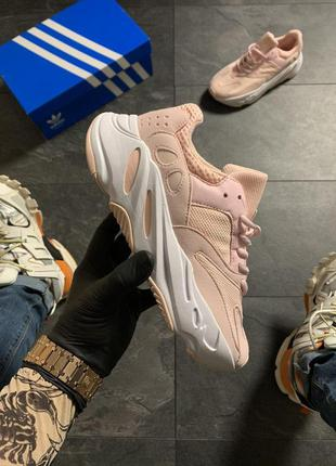 Adidas yeezy boost 700 pink white
