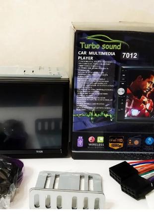 """Автомагнитола 2Din Pioneer 7012CRB с Экраном 7"""" дюймов сенсор + U"""