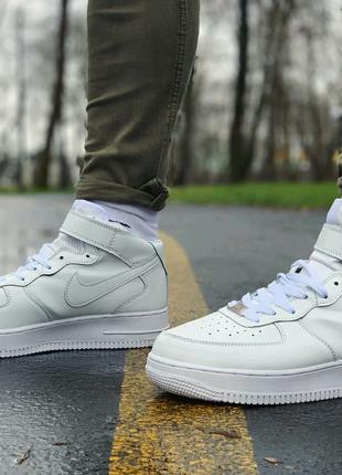 Nike Air Forceкожа р 41-44
