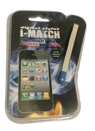 Стилус СПИЧКА для смартфона/планшета