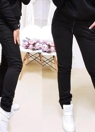 Тёплые спортивные штаны на флисе