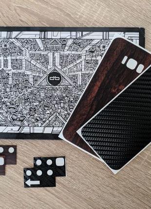 Защитные пленки на Galaxy S8+ от dbrand