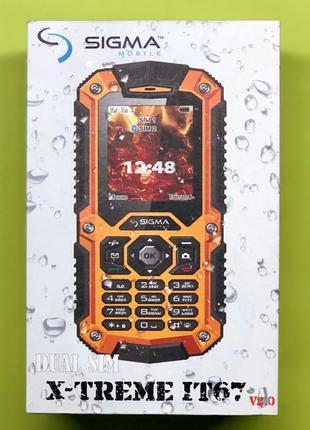 Мобильный телефон Sigma X-Treme IT67 dual sim