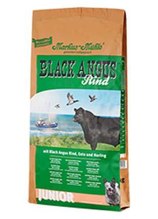 Корм для щенков Luposan Black Angus Junior с говядиной (15 кг)