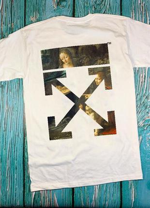 Футболка off white • футболка офф вайт• желтая футболка• ори б...