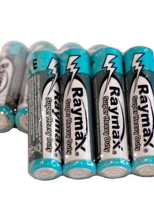 Батарейка мизинчиковая Raymax солевая R3 ААА