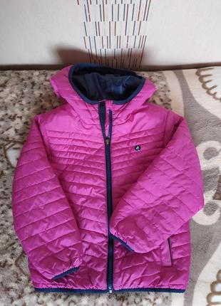 Курточка для девочки весна осень 116р.