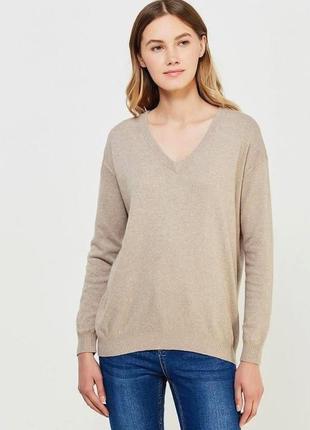 Удлиненный вязаный свитер с ангорой jbc