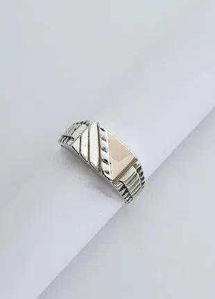 Серебряное мужское кольцо,печатка,перстень