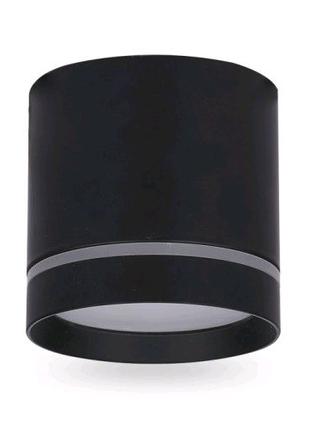 Cветодиодный светильник 10W черный ,