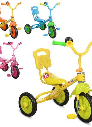 Трехколесный велосипед Bambi M 1190, колеса пена EVA колеса, микс