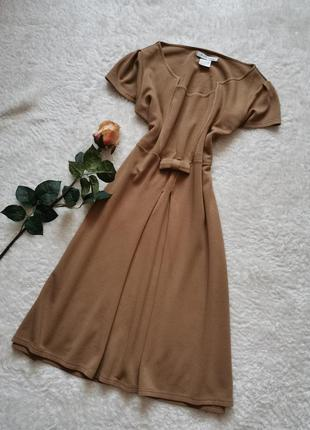 Платье миди в стиле 60 ретро jus d'orange франция размер 40