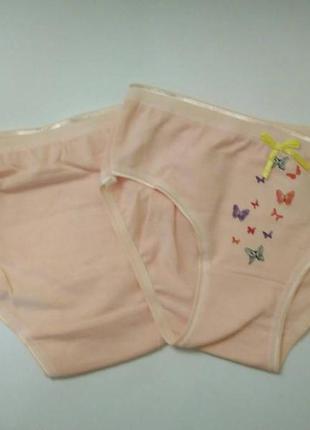 Трусики для девочки 3-6 лет с милыми бабочками